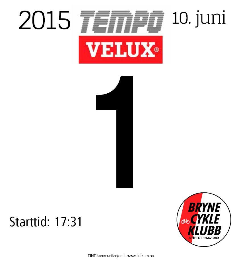StartnummerTempoVELUX2015
